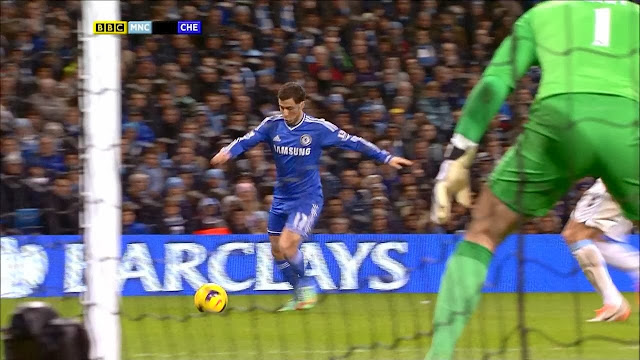Hazard, Manchester City - Chelsea