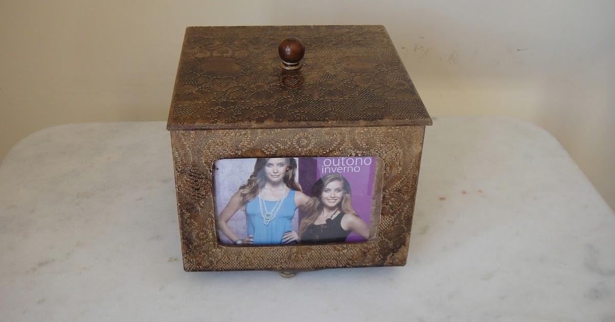 Adesivo De Guarda Roupa Infantil ~ Artesanatos Goi u00e2nia Mina das Artes Caixa Giratória para fotos Pintura em madeira, textura