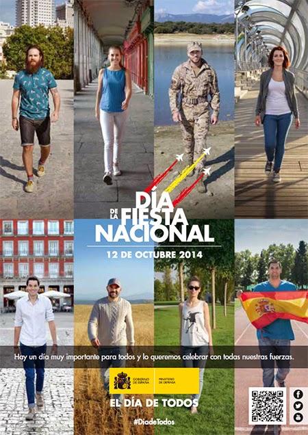 12 de octubre 2014, Día de la Fiesta Nacional