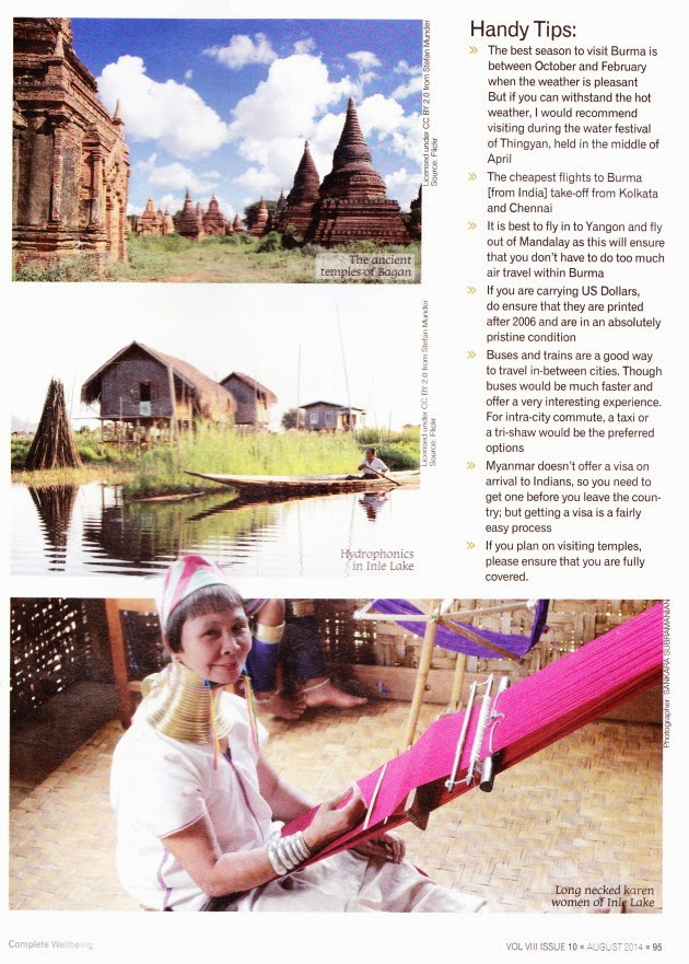 The Land of Temples - Complete Well Being Magazine - August Issue - Page 95