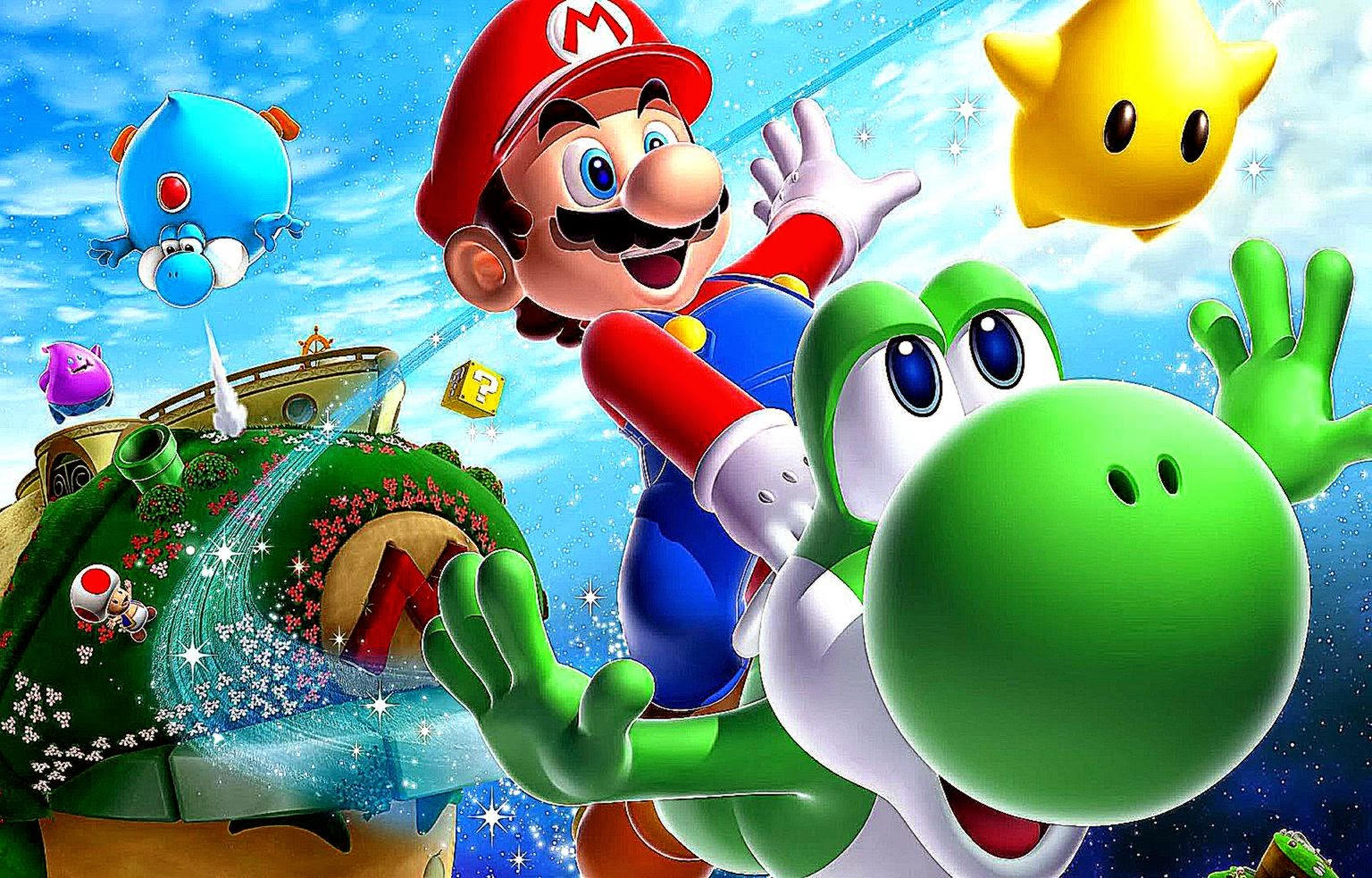 HD Wii Wallpapers Mario Kart Super Mario Galaxy 2 Toad