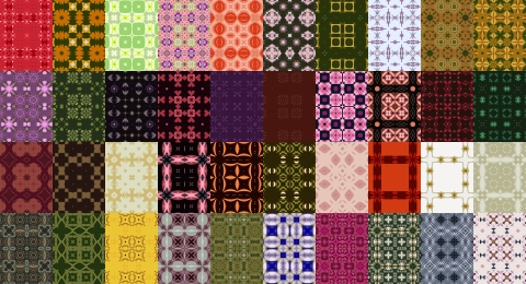 Free Seamless Patterns Set 10