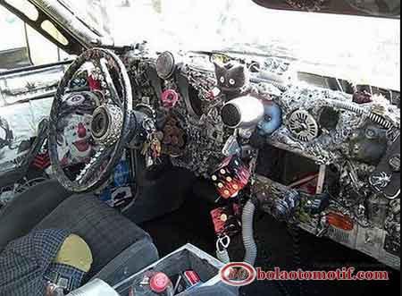 Interior mobil Pimped