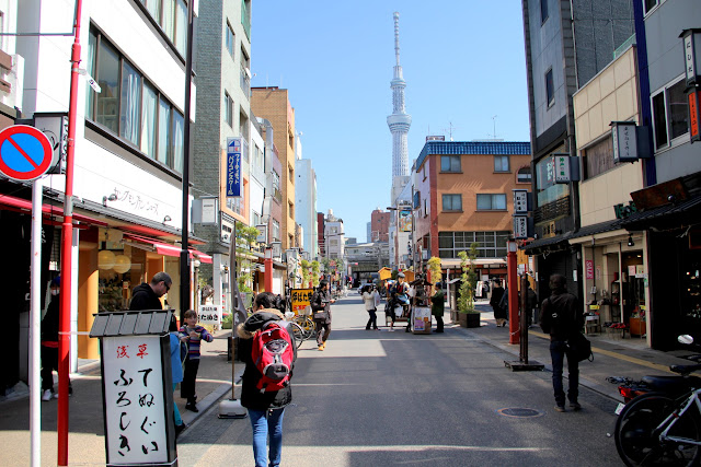 日本.東京.淺草.雷門.仲見世通