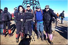 Gorbeia mendiaren gailurra 1.482 m.  --  2014ko abenduaren 31ean
