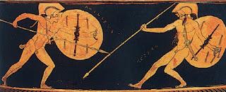 Αχιλλέας γιος του Πηλέα και της Θέτιδας, ημίθεος ήρωας, ανδρεία και τόλμη, Τρωικός πόλεμος.