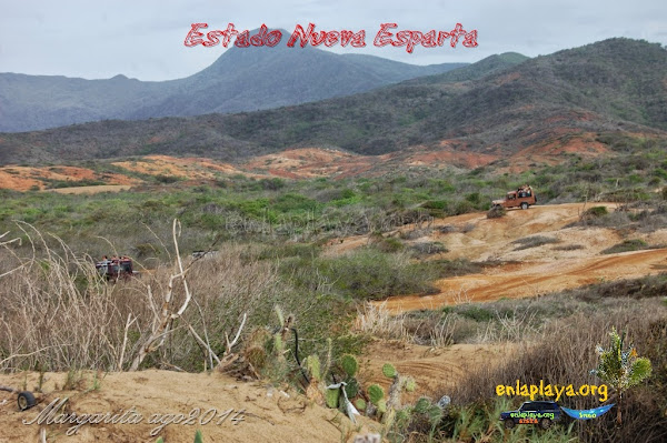 Playa La Mula NE090, Estado Nueva Esparta, Macanao, venezuelandrover.com 4x4