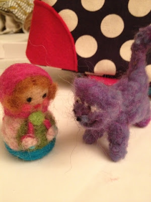 craftcation, pollyannacowgirl, needle felting, needlefelting, felt, wool, craft conference, ventura, firefly express