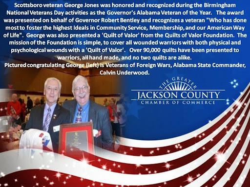 Governor's Alabama Veteran of the Year!