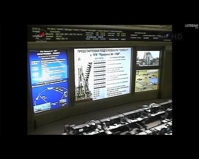 Progress M-15M: Lancement & Mission. P