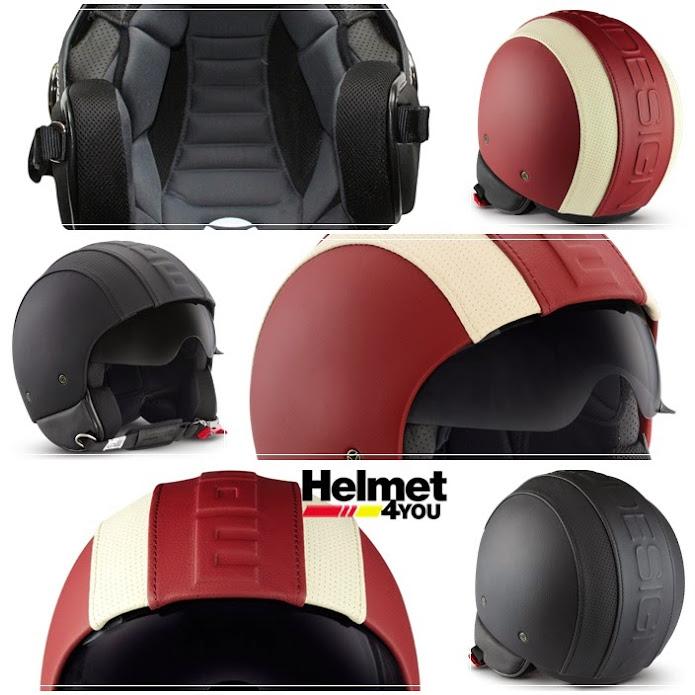 HERO หมวกกันน็อค MOMODESIGN หมวกโมโม่ ITALY หมวกเวสป้า vespa MOMO Helmet A2S Auto2speeD