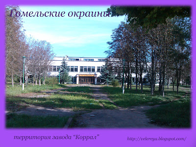 """Красоты Гомельских окраин - территория завода """"Коррал"""""""
