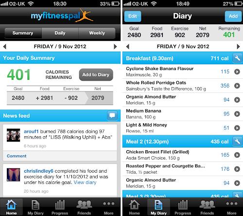 MyFitnessPal Os 6 melhores aplicativos para Android e iPhone