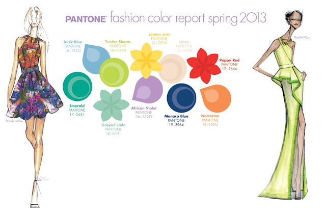 Pantone Spring 2013 Fashion Colors
