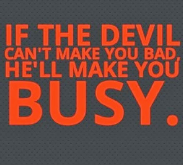 Angel Cheron The Devil Aint Always Busy Sometimes Youre The Problem