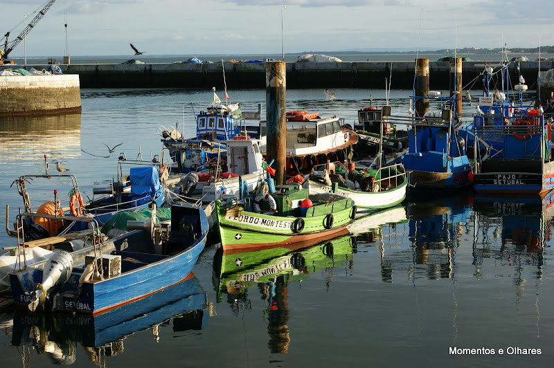 Barcos, doca dos pescadores