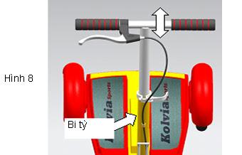 Xe trượt scooter đạp chân Wing A 15