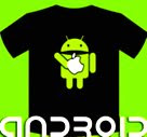 Camiseta Android ead Apple