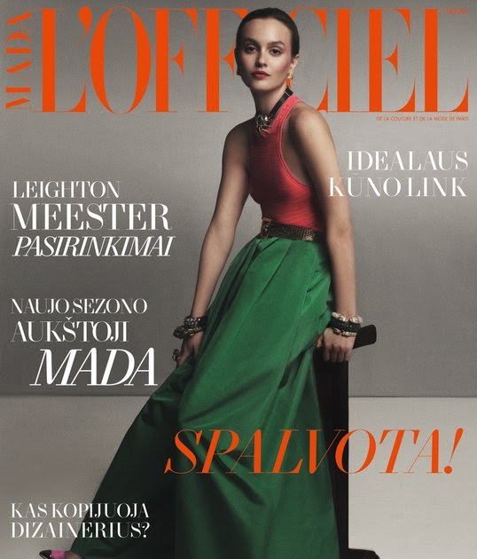 Ana on heels: Favorite Leighton Meester for L'Officiel ...