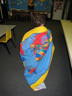 Map blanket