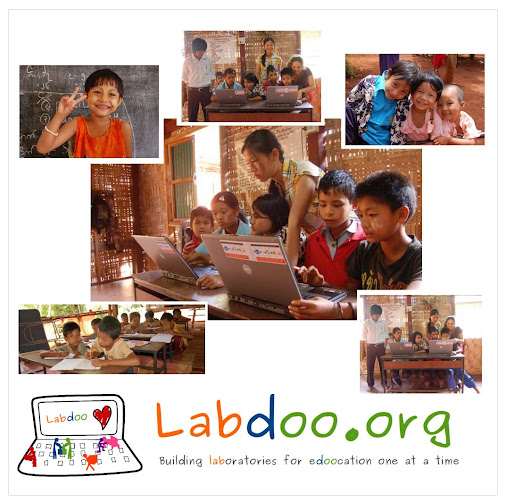 Labdoo Laptops aus Madrid für Thailand  @Tae Sot Thailand from Madrid - Labdoo laptops delivered to ...