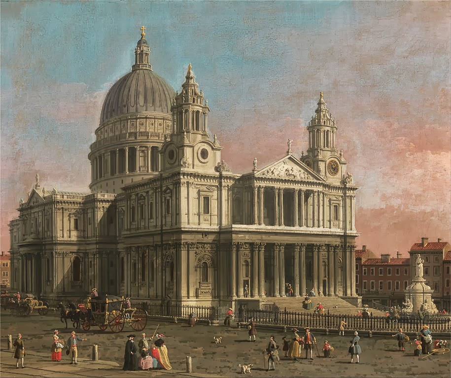Canaletto - St. Paul's Cathedral