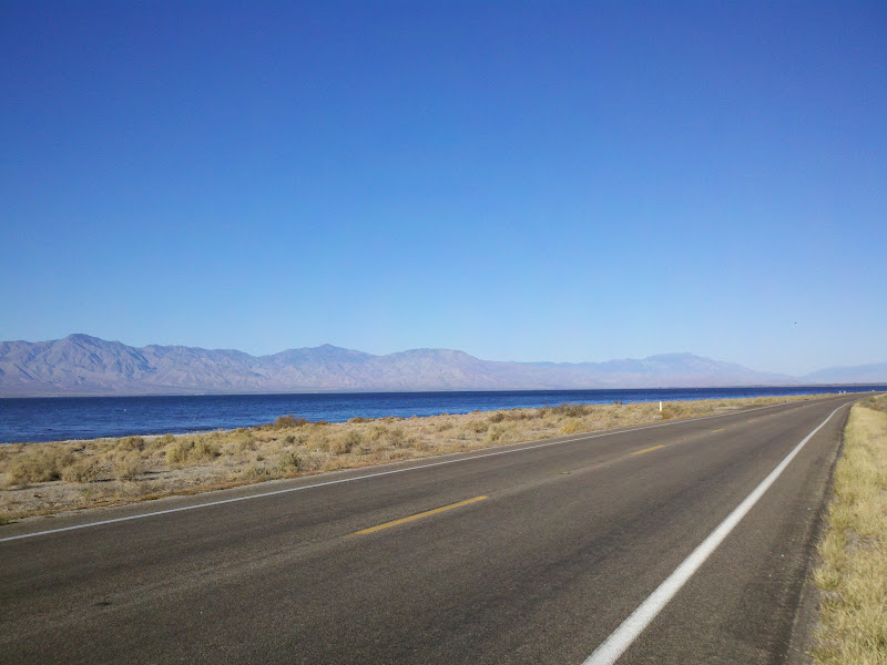 Salton Sea Circumnavigation • Highway 111 (Eastern Shore)