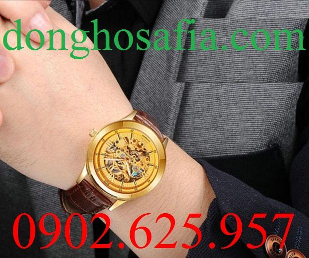 Đồng hồ nam cơ Bos 9008 BS003