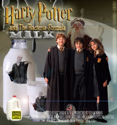 HARRY POTTER AND THE BACTERIA FORMULA MILK