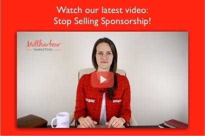 Stop Selling Sponsorship!