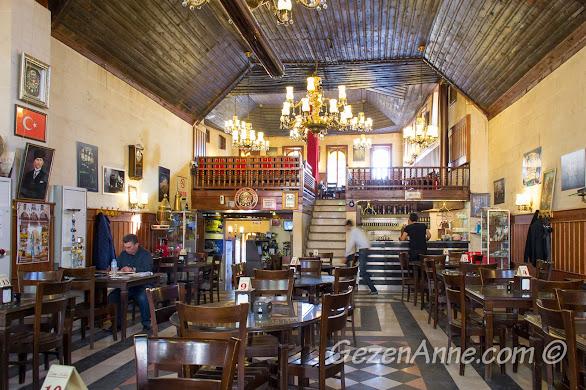 tarihi Tahmis Kahvesi içi, Gaziantep