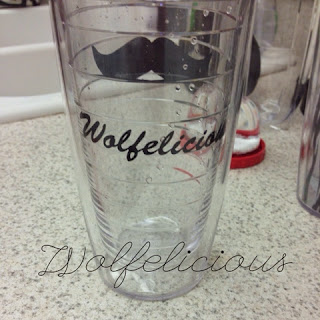 photo of Tervis christmas present wolfelicious