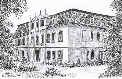 Pałac w Brodowie – stan przed 1945 r.