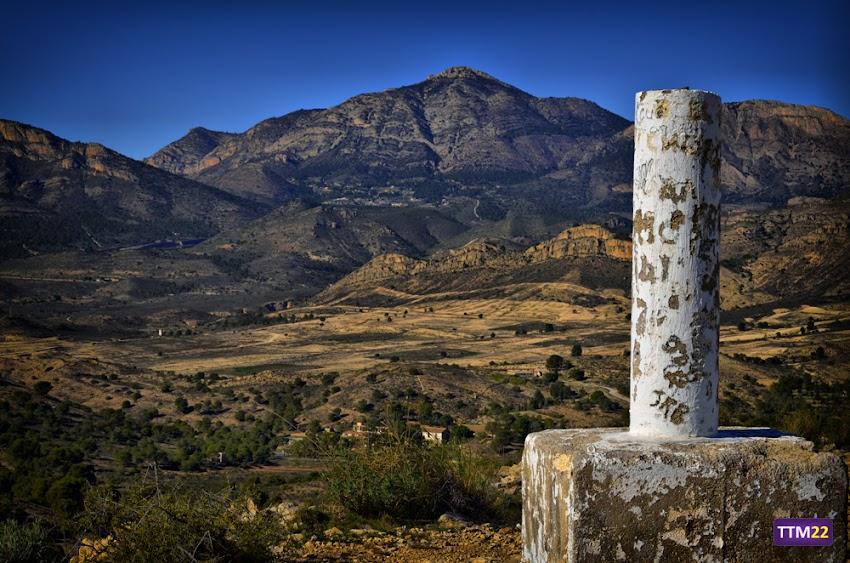 55-200 mm, Montañas, Nikon D5100, Paisajes, Sant Vicent del Raspeig, Valle del Sabinar, Vértice geodésico, Serra del Maigmó, HDR