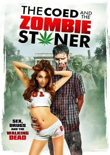Poster Of English Movie The Coed and the Zombie Stoner (2014) Free Download Full New Hollywood Movie Watch Online At alldownloads4u.com