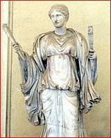 Vesta Roman Goddess Of The Hearth Image