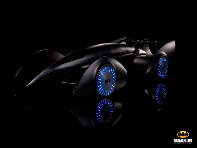 hydrogen powered batmobile