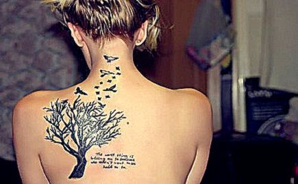pretty tattoo tree writing   image 282777 on