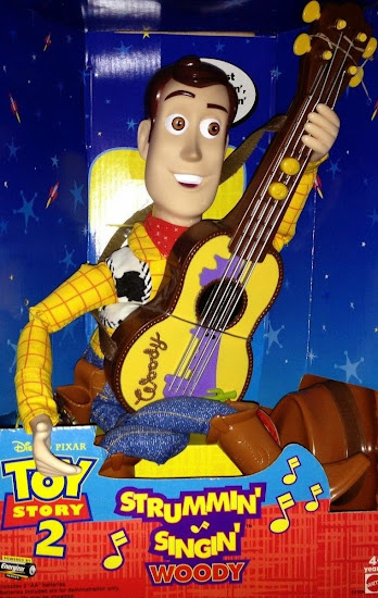 Woody Strummin and singin doll with Ukulele