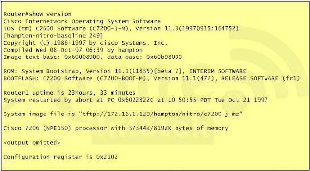 CCNA 200-120 Questions: Managing Cisco IOS – CEREXAM COM