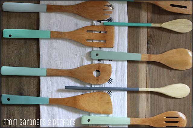 How to DIY dipped wooden sppons