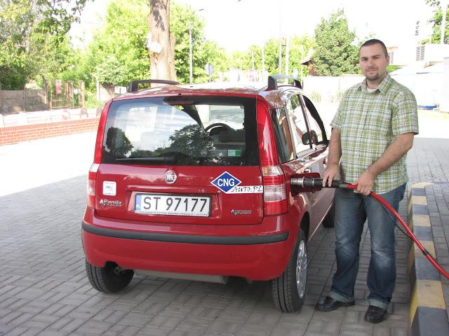 VIII Supertest Ekonomii 2011 - Fiat Panda CNG