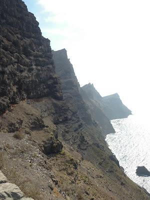 Steilküste Gran Canarias.