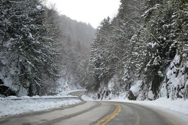 Зимние дороги Вермонта