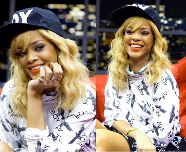 Rihanna in BOY London