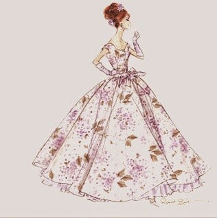 Vintage Dress for Barbie