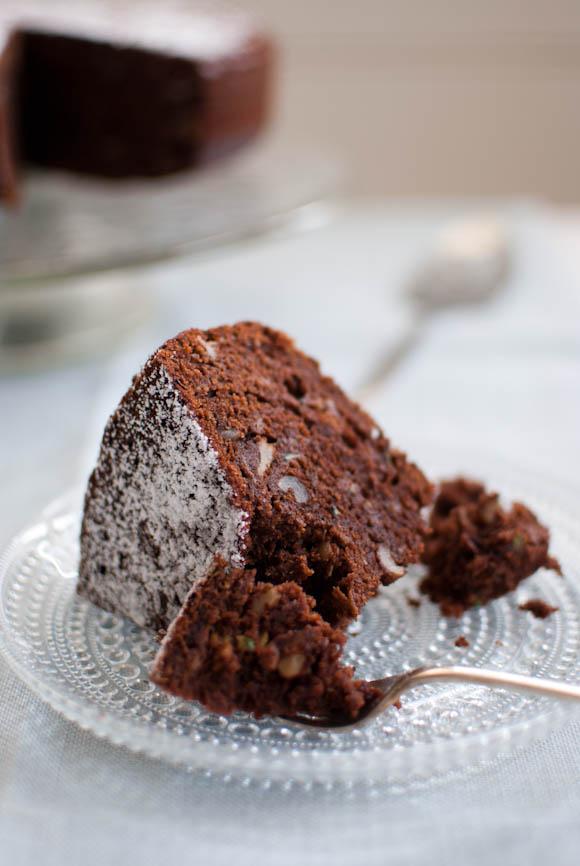 Scandi Home: Chocolate Zucchini Cake