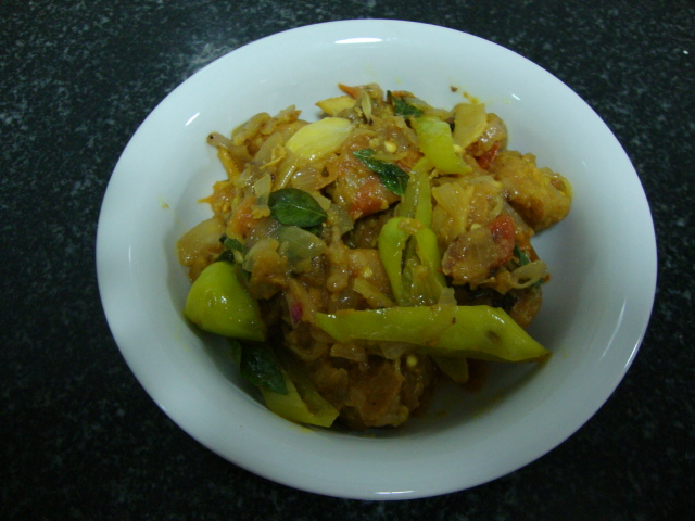 Chicken with Capsicum recipe