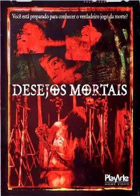 Filme Poster  Desejos Mortais DVDRip XviD & RMVB Dublado