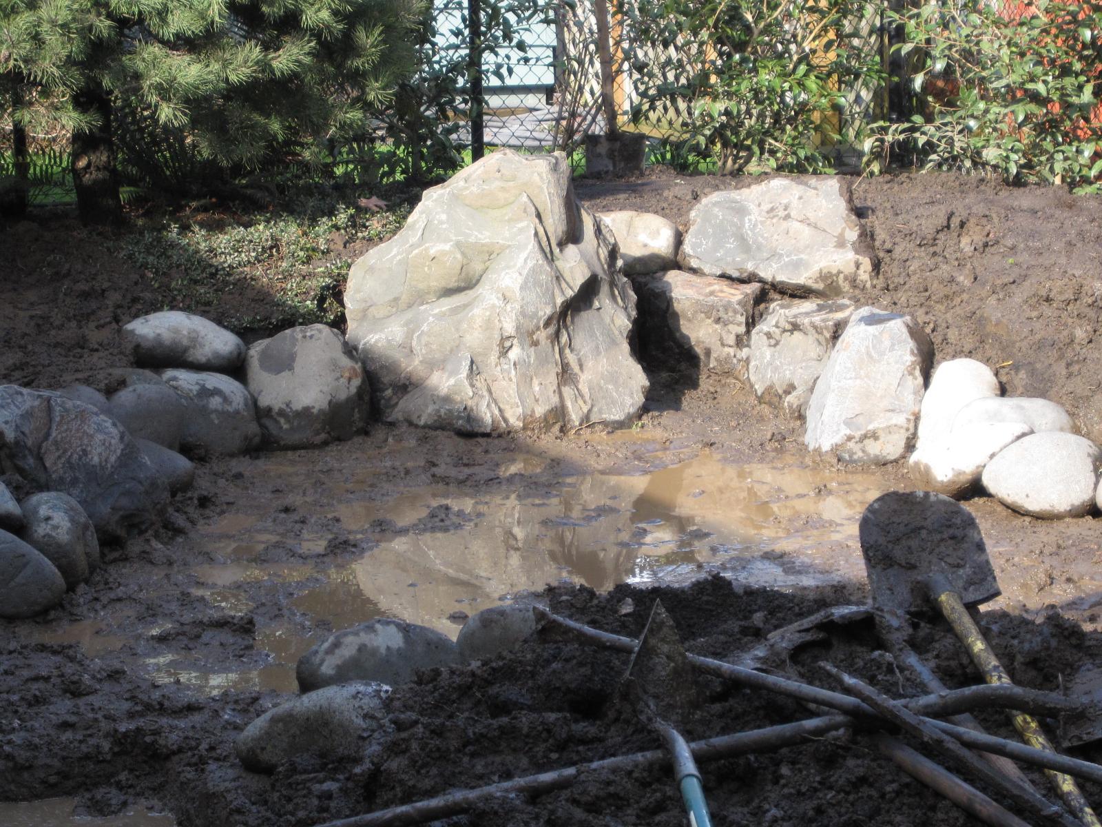 Large landscape boulders how to grade landscape for Large landscape boulders